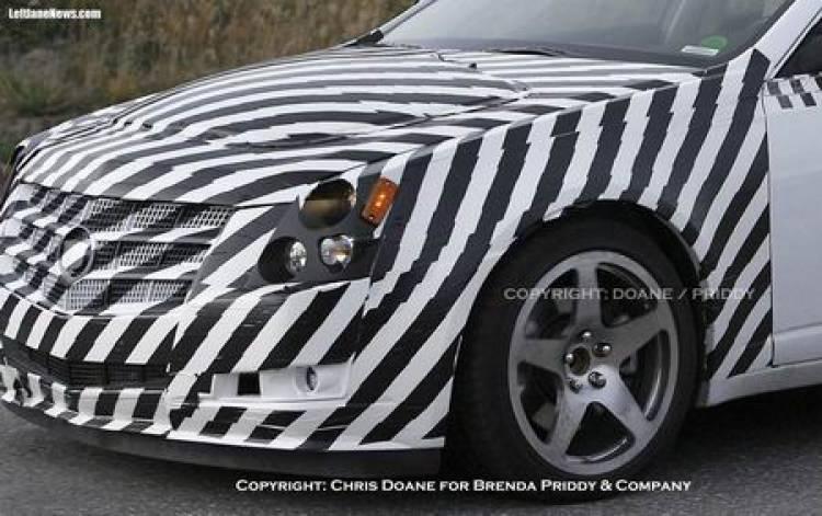Fotos espía del Cadillac CTS-V 2009