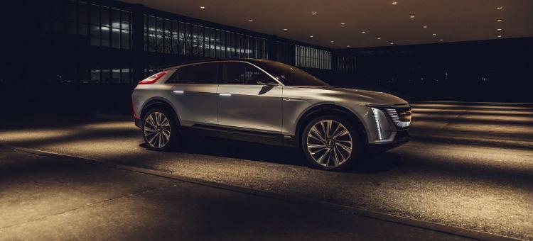 Cadillac Lyriq Ev Concept P