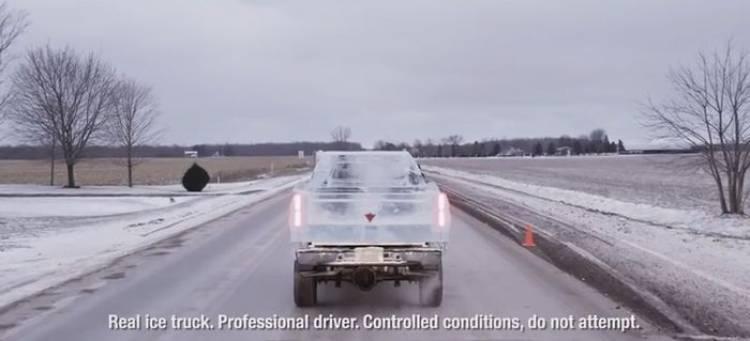 La pick-up canadiense de hielo que asombró al mundo