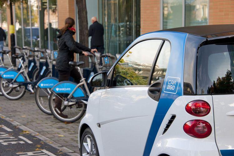Car2go Bicicletas Londres