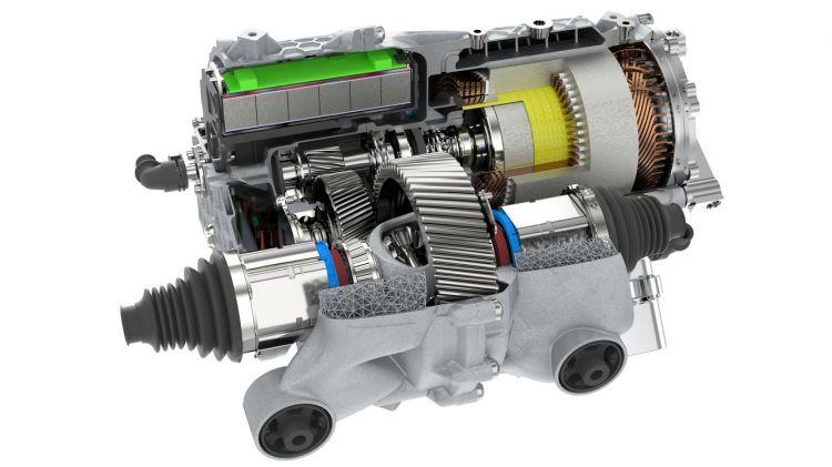 Carcasa Motor Impresion 3d Porsche 04