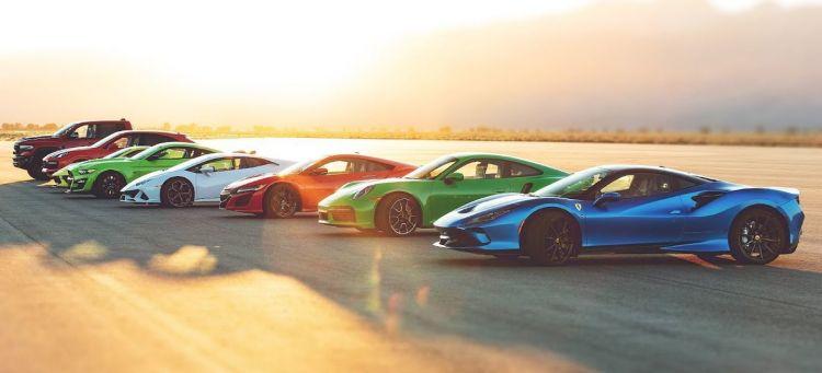 Carrera Aceleracion Motor Trend 2020
