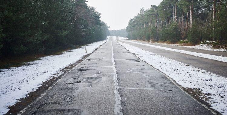 Carretera Baches Nieve