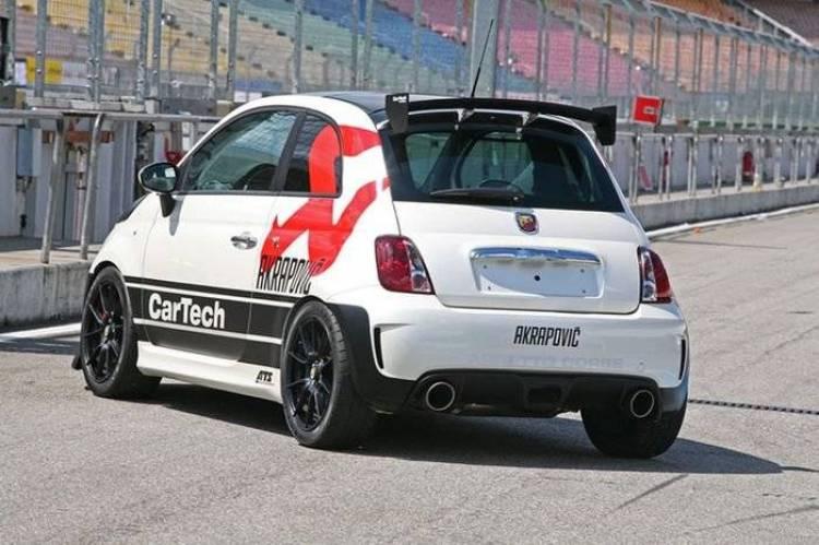 CarTech Abarth 500 Coppa, 240 CV directos del concesionario al circuito