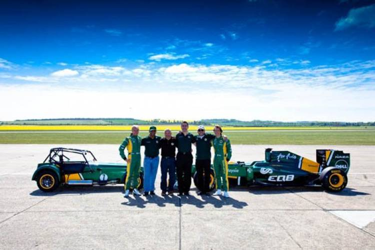 Caterham Team Lotus Special Edition Seven