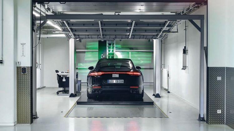 Centro Desarrollo Weissach Porsche 08