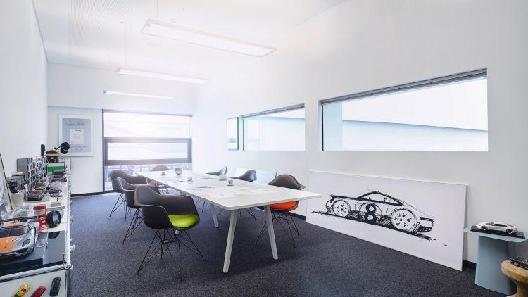 Centro Desarrollo Weissach Porsche 18
