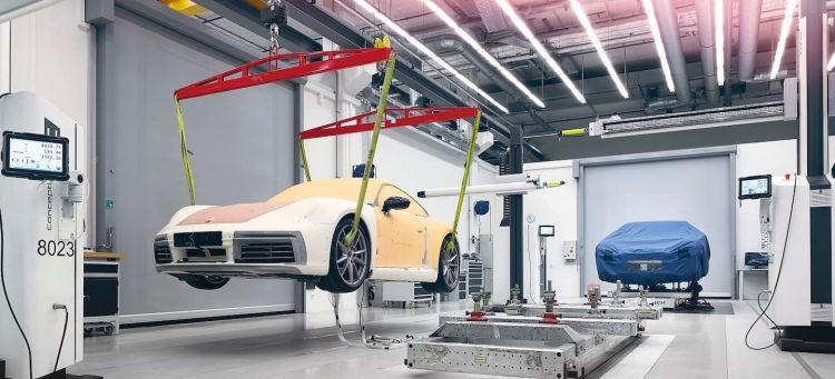 Centro Desarrollo Weissach Porsche Portada