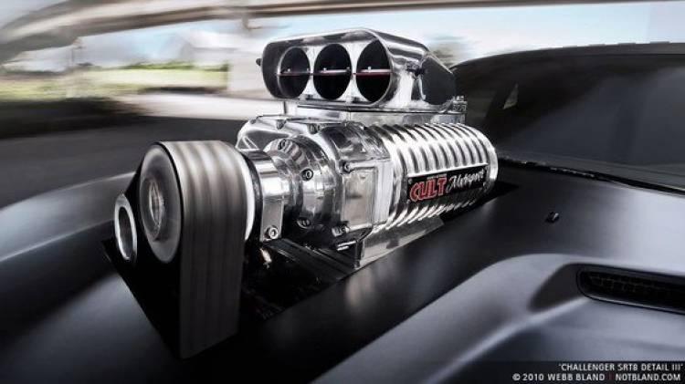CULT Motorsport Dodge Challenger SRT8, agresividad en estado puro