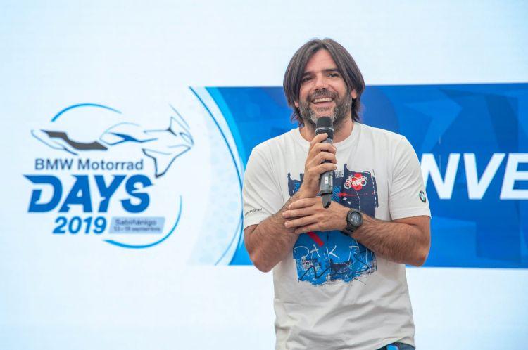 Charly Sinewan Aventurero Moto Bmw Days