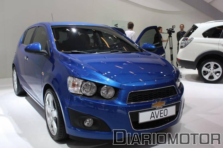 Chevrolet Aveo 2011 en el Salón de París