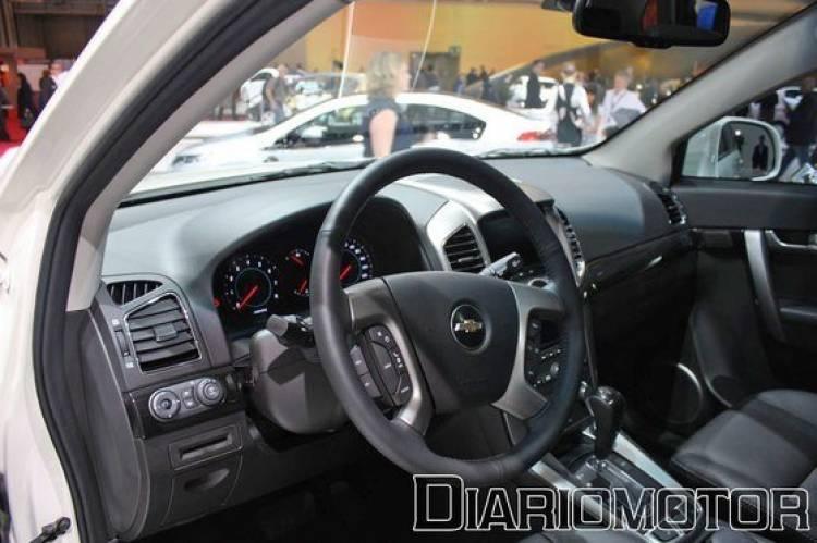 Chevrolet Captiva, un SUV renovado en el Salón de París