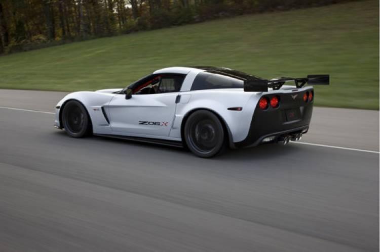 Chevrolet Corvette Z06X Track Car