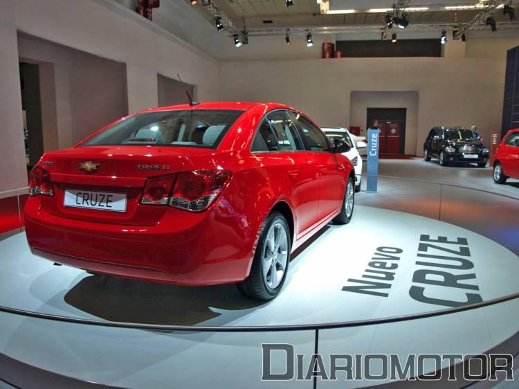 Chevrolet Cruze en el Salón de Barcelona