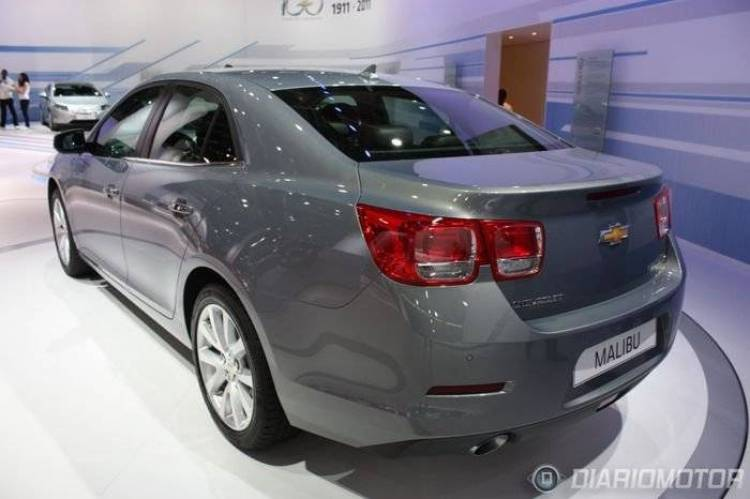 Chevrolet Malibu, avances en calidad para la berlina media de Chevy en Frankfurt
