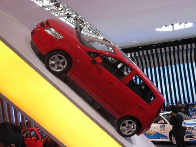 Chevrolet Sail, la oferta low-cost para China