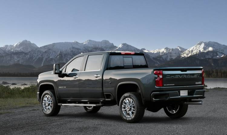 The High Country Is One Of Five Trim Levels For The All New 2020
