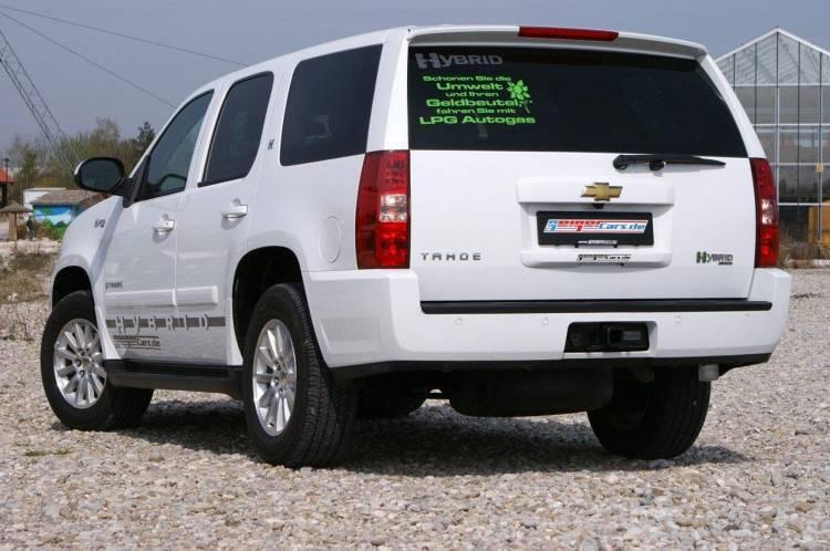 Chevrolet Tahoe Tri-híbrido por Geiger Cars