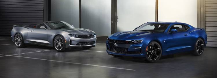 2019 Camaro Line Features New Front End Styling With Distinct Di