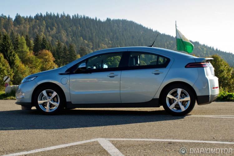 Chevrolet Volt, prueba en Suiza