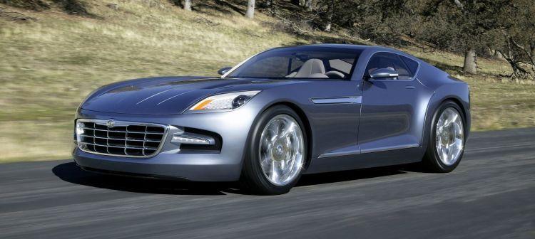 2005 Chrysler Firepower Concept Vehicle.