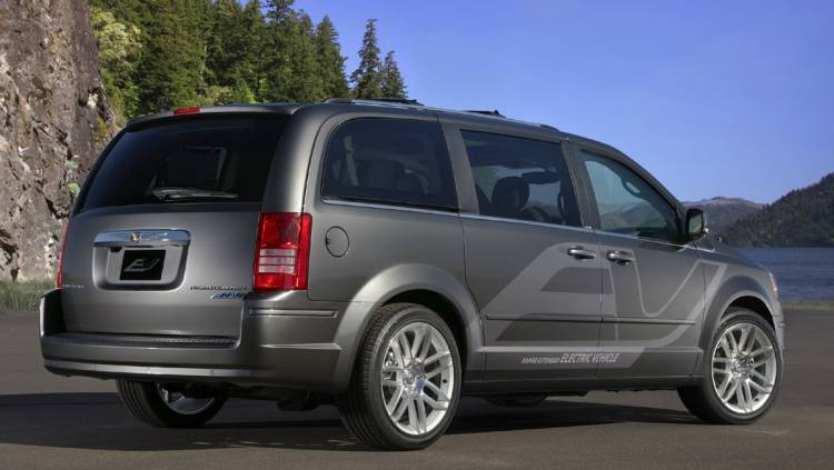 Chrysler Grand Voyager EV híbrido