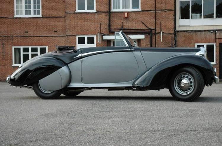 A subasta el Daimler DB18 Drophead Coupé de Sir Winston Churchill