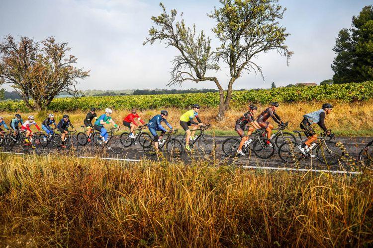 Ciclistas Carretera Michelin