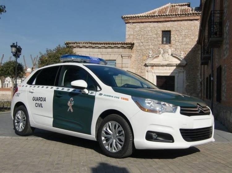 La Guardia Civil se hace con 90 unidades de Citroën C4