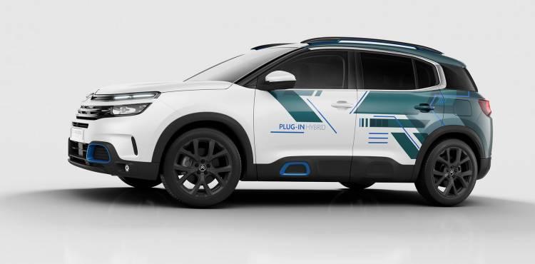 Citroen C5 Aircross Hybrid Concept 02
