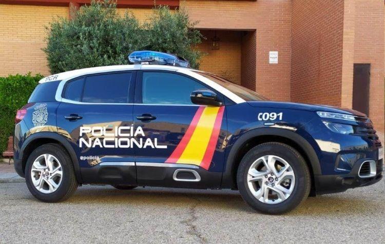 Citroen C5 Aircross Policia Nacional Cnp 03