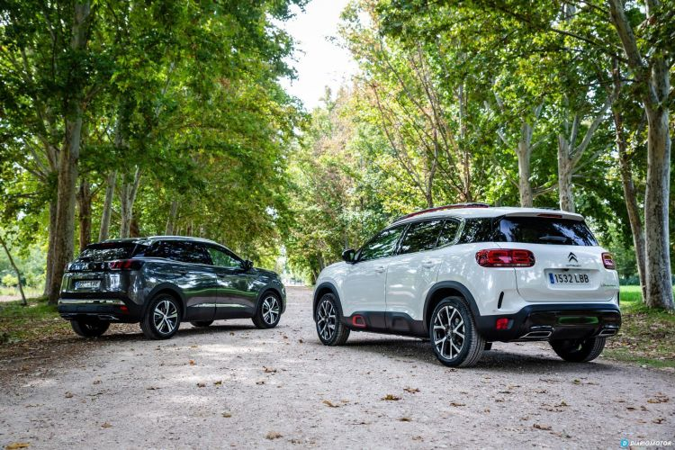 Citroen C5 Aircross Vs Peugeot 3008 70
