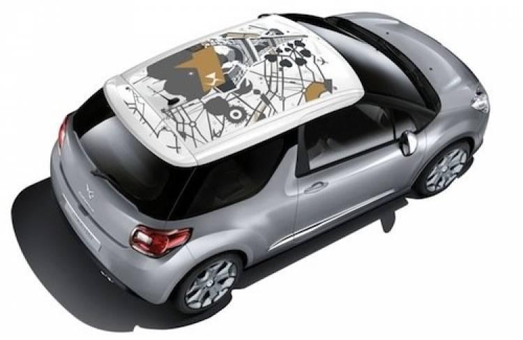 Citroën DS3 y su colección de verano: Map