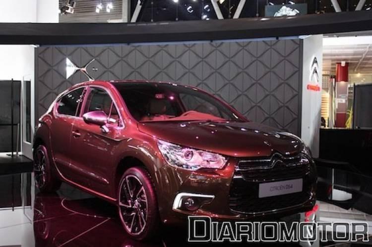 Citroën DS4 desde el Salón de París