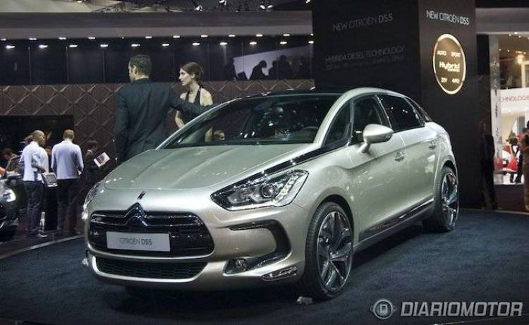 Citroën DS5 en el Salón de Frankfurt