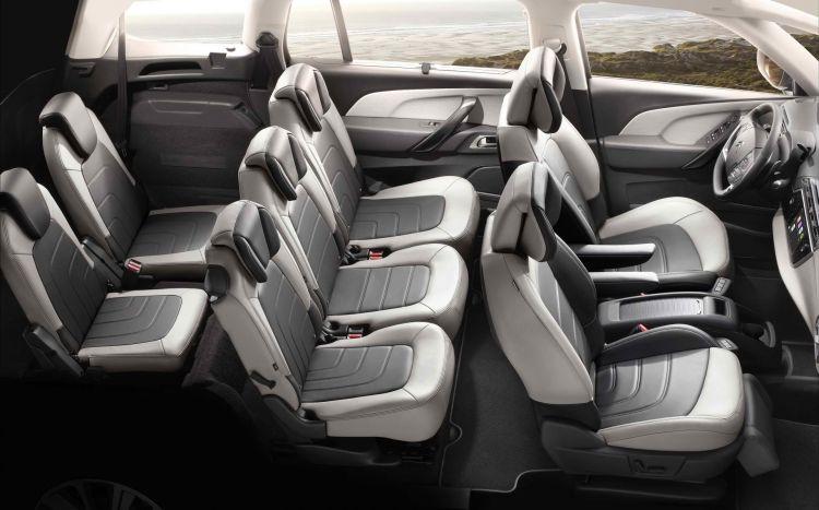 Citroen Grand C4 Spacetourer Interior 5