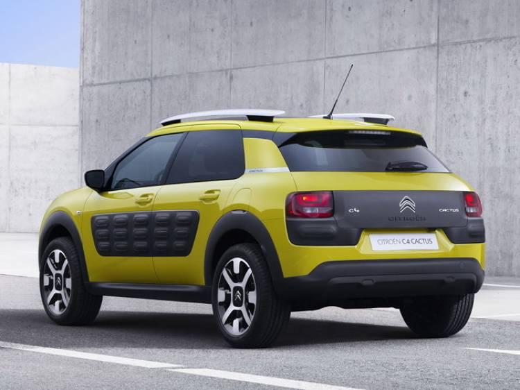 Primeras imágenes del Citroën Cactus