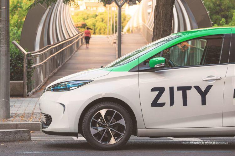 City Share Car Zity Renault Zoe
