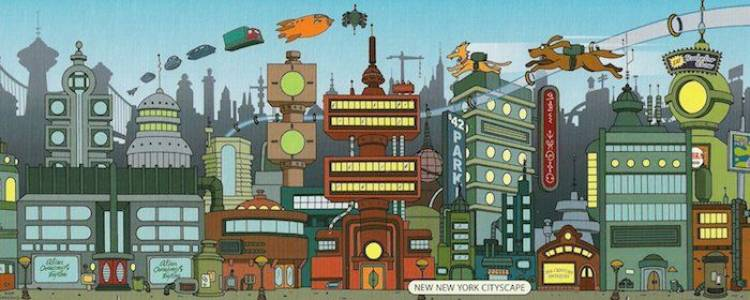Ciudad de Futurama