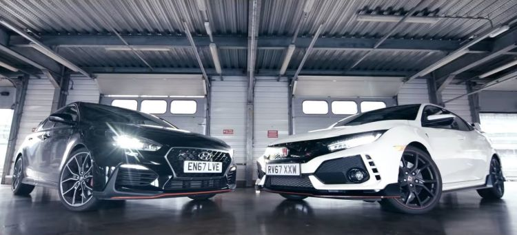 Civic Type R Vs I30 N