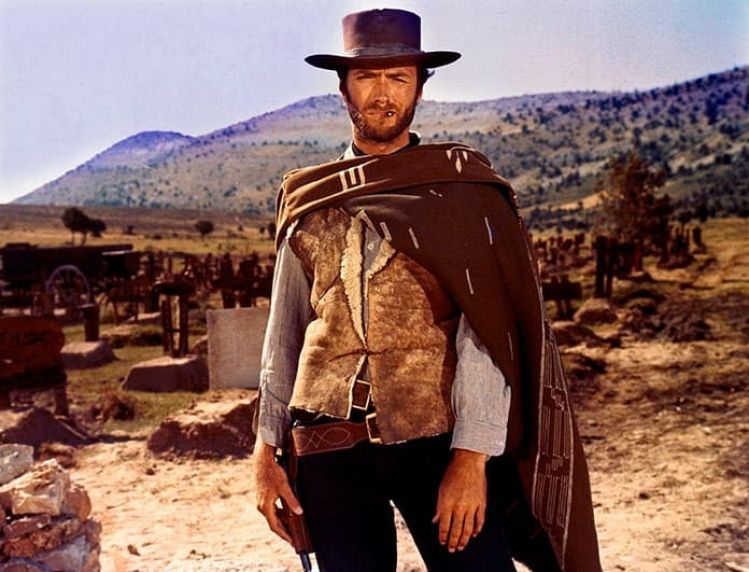 Clint Eastwood Rodando Desierto De Tabernas