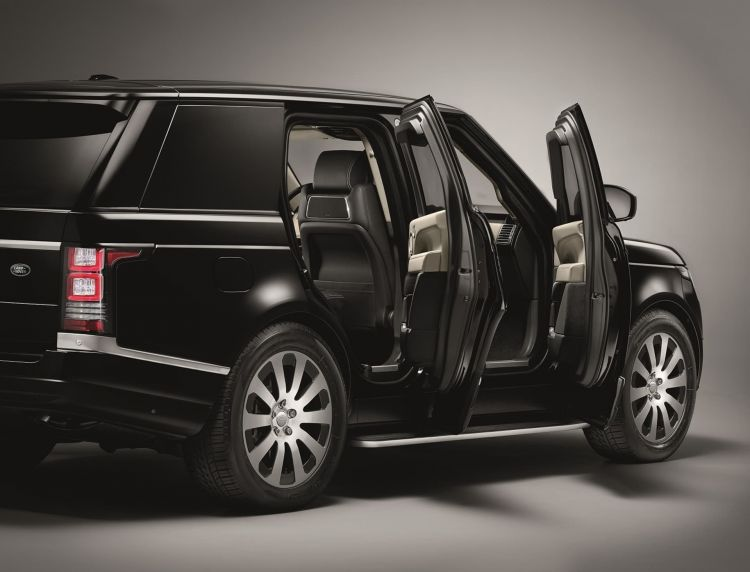 Coche Blindado Sentinel Range Rover