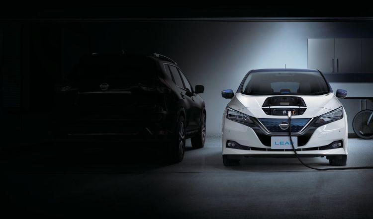 Coche Electrico Nissan Leaf 4