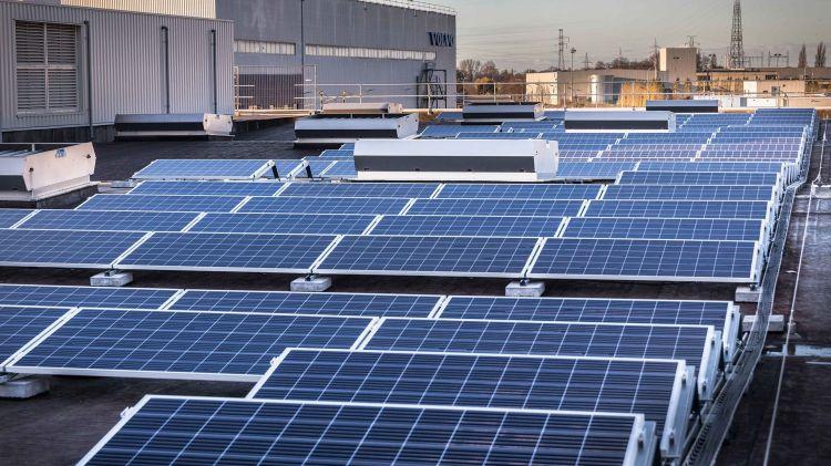 Coche Electrico Paneles Solares