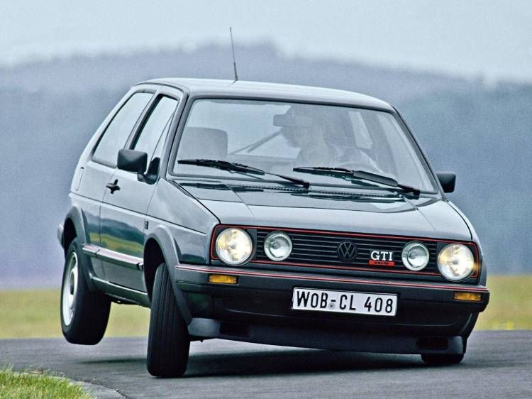 Coche Historico Anos Volkswagen Golf Gti
