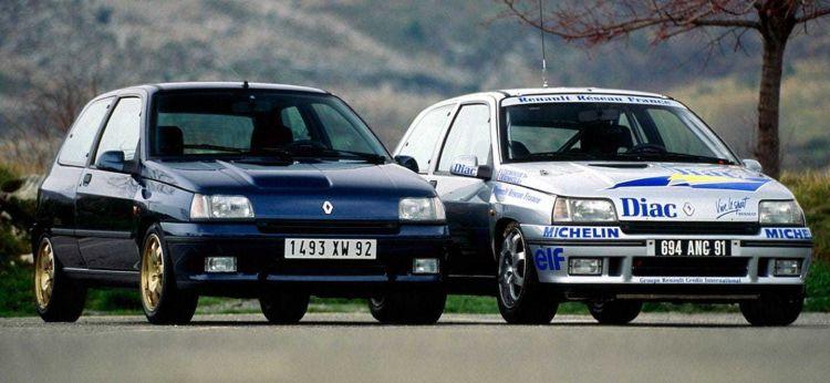 Coche Ideal Renault Clio Williams