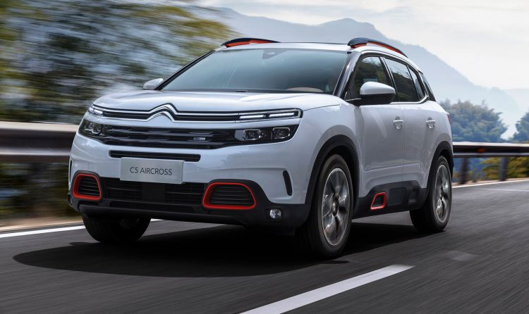 Coche Stock Citroen C5 Aircross