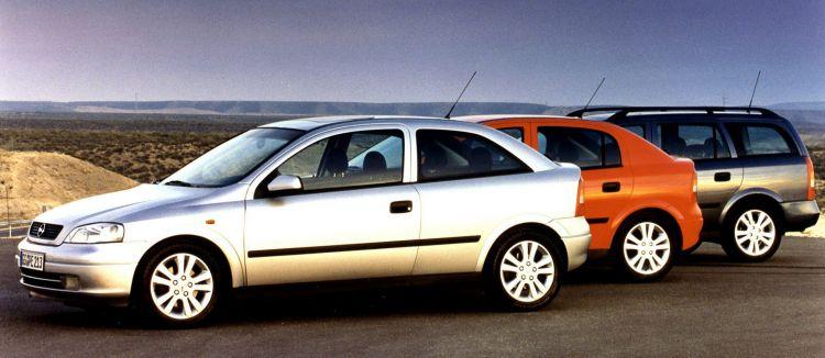 Coches Mileuristas Opel Astra G 1998 2002