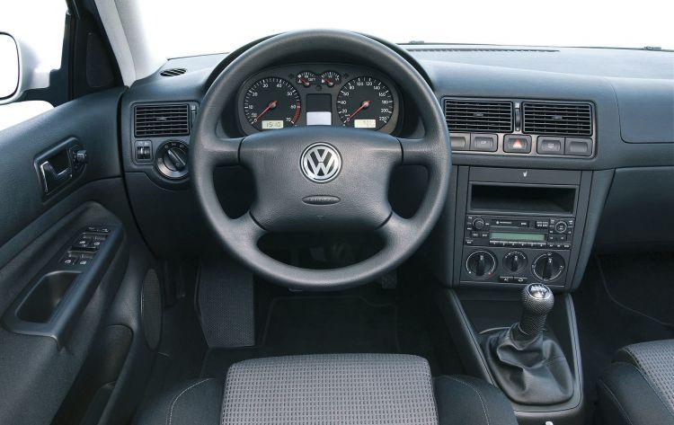 Coches Mileuristas Volkswagen Golf Mk4 Interior