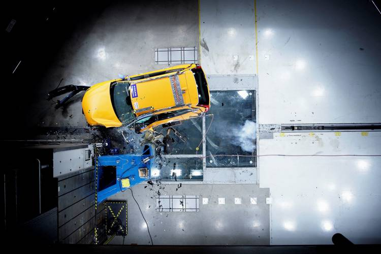 The New Volvo Xc60 Crash Tests
